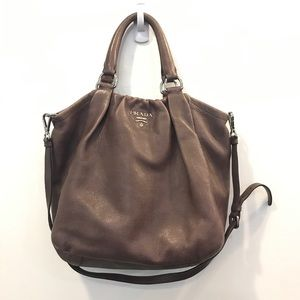 Prada 100% Certified Authentic Leather Bag